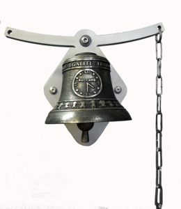Traditional school bell - Oscillating mount Ø10cm - availalble