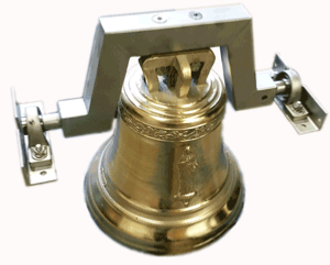 Contemporary personalized Yoke-Mounted Bell