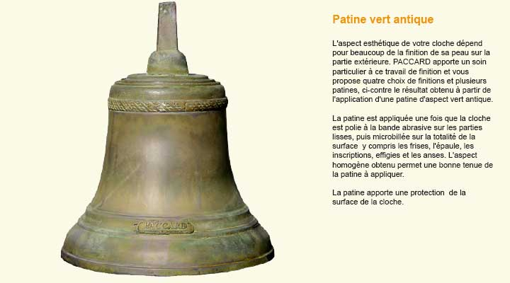 finition-patine-vert-antique-cloche-Paccard
