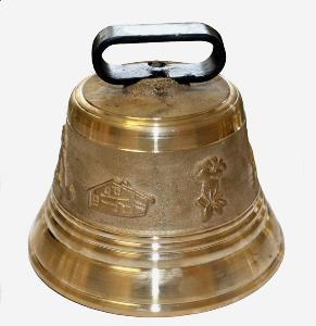 Cloche de vache en bronze - personnalisable