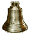Bronze bell without  équipment